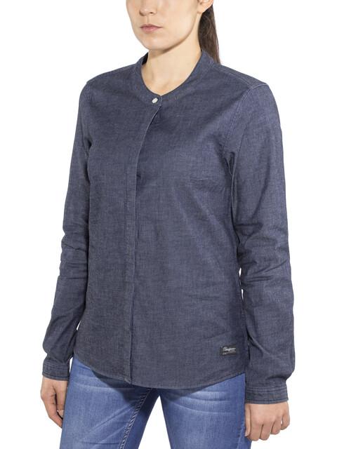 Bergans Oslo Shirt Women Dark Denim